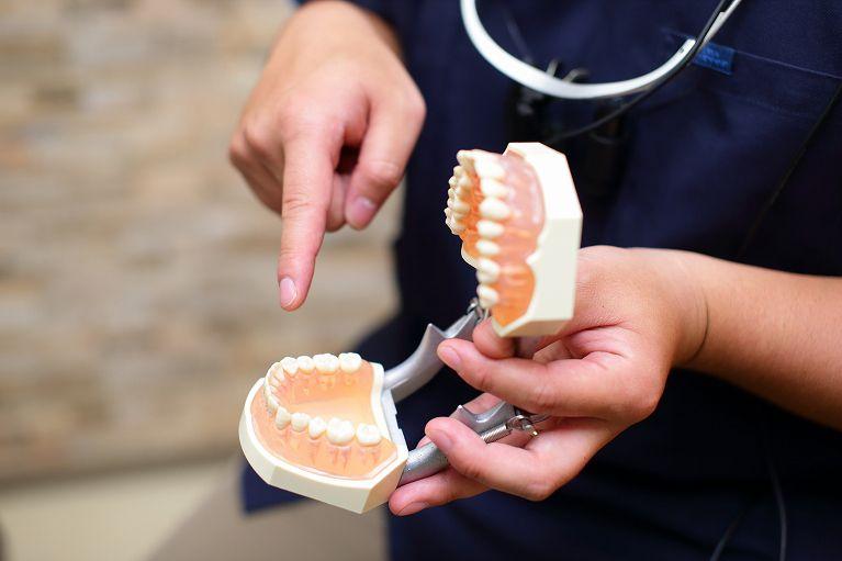 歯を残すための削る量を最小限に抑えた治療を