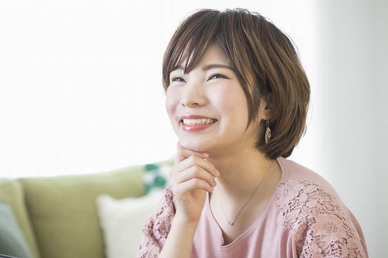 笑顔がより魅力的になる白い歯
